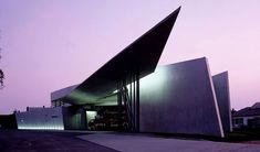 Vitra Fire Station by Zaha Hadid. Photo via zaha-hadid by Christian Richter. Zaha Hadid Architecture, Zaha Hadid Buildings, A As Architecture, Contemporary Architecture, Architecture Wallpaper, Office Buildings, Futuristic Architecture, Parametric Architecture, Contemporary Design