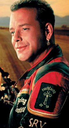 """Mickey Rourke""""Harley Davidson And The Marlboro Man"""" movie,, oh m he is so sexy"""