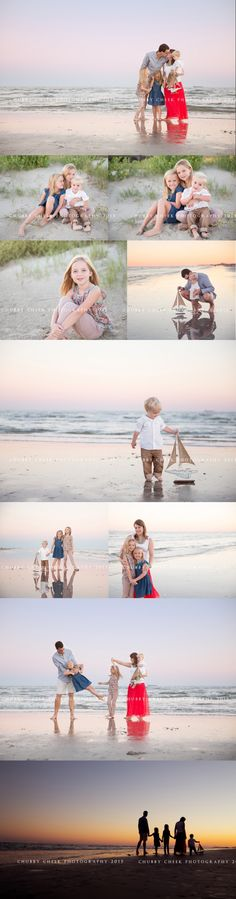 We are in love with this family photo series!  Photos by Chubby Cheek Photography.