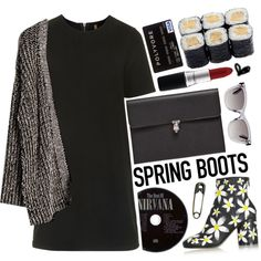 How To Wear Daisy ankle boots for spring Outfit Idea 2017 - Fashion Trends Ready To Wear For Plus Size, Curvy Women Over 20, 30, 40, 50
