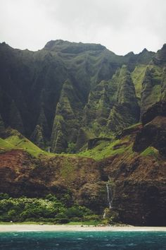 Cathedral Cliffs, Nã Pali Coast, Kauai