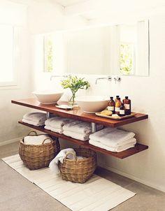 Ideias estilosas para o banheiro 13                                                                                                                                                     Mais                                                                                                                                                                                 Mais