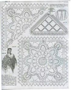 Pattern crochet unit chal