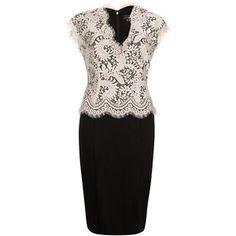 Black & white Lace
