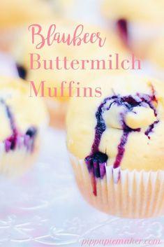 Dieses einfache Rezept für Blaubeermuffins ist ein Original von der Magnolia Bakery aus New York und ich liebe es einfach! Die Muffins sind locker, weich und einfach himmlisch lecker.