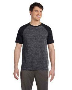 All Sport Men's Performance Triblend Short-Sleeve T-Shirt M1101