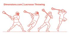 Lacrosse Throwing or Lacrosse shot is a way of passing a lacrosse ball to a teammate quickly or shooting the ball to score. In a lacrosse throw, your leading hand will do most of the work. To do a lacrosse throw: hold the tail of the stick with your non-dominant hand and your feet and chest to the side and positioned towards your teammate. Downloads online #sports #lacrosse