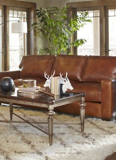 We're giving away this leather sofa on 11/3/14! Click to enter for the chance to win.