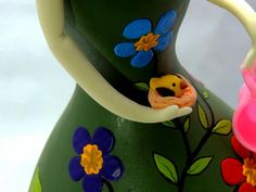 Elsa, Planter Pots, Cover, Gourd Art, Bib Overalls, Baby Dolls, Craft