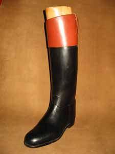 Vintage 1960s Mens Boots 60s 70s Mod Black Ankle Boots