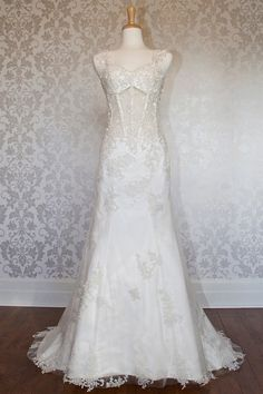 Hot sexy with straps tulle informal wedding gown