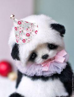 Купить Leolo) - черно-белый, панда, мишка, подарок на новый год, подарок, медвежонок тедди, альпака