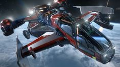 Drake Interplanetary Cutlass Red Search & Rescue Vessel