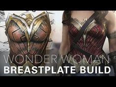 Wonder Woman cosplay breastplate tutorial by Gladzy (REUPLOAD) - YouTube