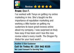 I've worked with Tonya on getting my online marketing in line. She's taught me the...