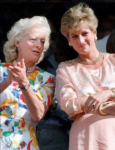 Princess Di and her mother