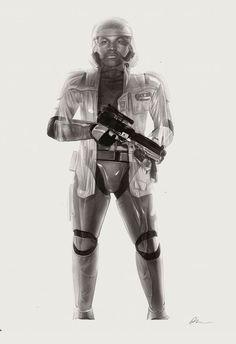 The Force Awakens illustrations by Greg Ruth Star Wars Light, Star Wars Vii, Fanart, Aliens Funny, Episode Vii, Ralph Mcquarrie, Graphite Drawings, Alternative Movie Posters, Illustration Art