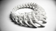 3d printed lace necklace