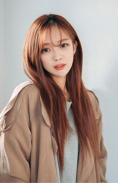 Korean hairstyle female 24 short , long and medium hair trends Haircuts For Long Hair, Hairstyles With Bangs, Trendy Hairstyles, Straight Hairstyles, Girl Hairstyles, Korean Hairstyles, Braided Hairstyles, Japanese Hairstyles, Layered Hairstyles