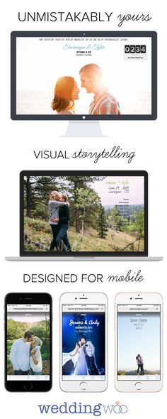 WeddingWoo — Build a beautiful wedding website that you'll actually show off → http://www.weddingwoo.com
