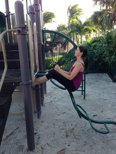 Playground workout! You don't need a gym to get a good workout in!
