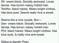 Dilitha IS Phan.<<< is this telling us something