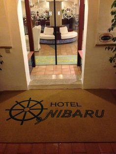 Zerbino personalizzato in cocco sintetico Hotel Nibaru Arzachena Porto Cervo OT