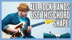 Guitar Power Chords, Easy Guitar Chords, Guitar Strumming, Guitar Songs, Drops Of Jupiter, Lenny Kravitz, Neil Young, George Harrison, Metallica