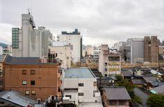 Kyoto cityscape on a rainy day - Copyright Sami Hurmerinta. Kyoto Japan, Travel Images, Rainy Days, Multi Story Building