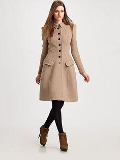Burberry Prorsum - Princess Coat - Saks.com $2995