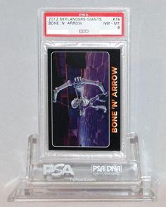 2012 Skylanders Giants Bone 'N' Arrow PSA NM-MT 8