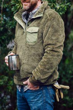 Kodiak Pullover- Birchwood
