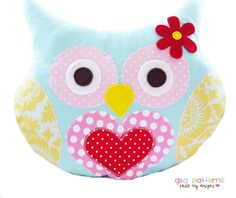 Owl Sewing Pattern  Owl Pillow Pattern  PDF di GandGPatterns