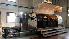 Lavazza Airstream is a mobile cafeteria equipped with the best technologies to promote the Lavazza brand at the most important events. It will serve Tierra: a unique blend of 20 different coffees selected from the best beans.  #Lavazza #Coffee #streetmarketing #marketing   #foodtrucks #promotruck