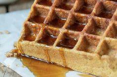 The Paleo Kitchen Pumpkin Waffles |