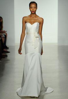 2014 spring Amsale wedding dress http://trendybride.net/amsale-spring-2014-wedding-dresses-collection/ #weddingdresses #fashion