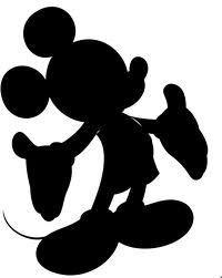 Free Printable Disney Silhouettes 120 x 150 200 x 251