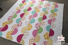 fun quilt, use this+the caterpillar book for a gift idea.