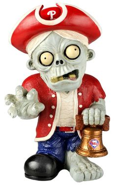 Philadelphia Phillies Zombie Figurine - Thematic