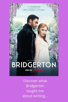 Bridgerton/ Bridgerton Netflix Series/ Regency Romance/ Discover what Bridgerton taught me about writing... Free Day, Netflix Series, Point Of View, Self Publishing, Greys Anatomy, Writing Tips, Helping Others, Regency, Authors