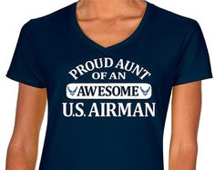 air force aunt – Etsy
