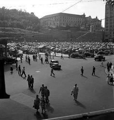 Largo da Carioca - anos 50