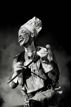 Till Lindemann, Rammstein, Mein Teil! I miss seeing them live. Saw them live when I was in the US, in Houston, Texas! :-D