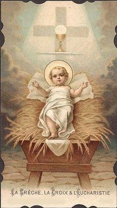 Manger, Cross, Eucharist