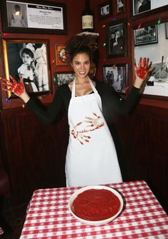 NEW YORK, NY - FEBRUARY Miss Universe 2018 Catriona Gray of the Philippines leaves her signed Marinara Hand-Prints as she visits Buca di Beppo Times Square on February 2019 in New York City. (Photo by Bruce Glikas/Getty Images) Gray Instagram, Filipiniana, Hand Prints, February 5, Miss World, Queen, Grey Fashion, Philippines, City Photo