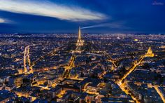 Nightfall in Paris | Camara / Camera: Nikon 750 Objetivo/Lense: Tamron 24-70mm Place: Paris - France