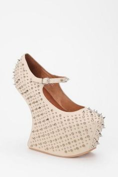 Studded heel less. FTW! :)