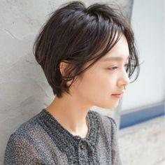 色気のあるショート|【NOESALON】SOBUEのヘアカタログ|LALA [ララ]