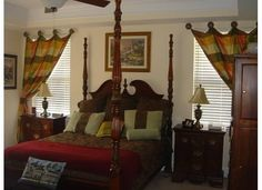 Master Bedroom decorated by Barbara Green of Sensibly Chic Designs for Life