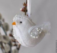 Felt Bird - Nach Weihnachten ist vor Weihnachten. Damit könnte ich bei meiner Mutter punkten.